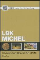PHIL. KATALOGE Michel: Liechtenstein-Spezial Katalog 2017/2018, 36. Auflage, Alter Verkaufspreis: EUR 42.- - Filatelia E Historia De Correos