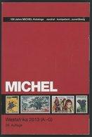 PHIL. KATALOGE Michel: Westafrika-Katalog 2013, Band 5, Teil 1, Alter Verkaufspreis: EUR 74.- - Filatelia E Historia De Correos