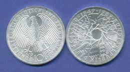 Bundesrepublik 10DM Silber-Gedenkmünze 1989, 40 Jahre Bundesrepublik - [ 7] 1949-… : RFD - Rep. Fed. Duitsland