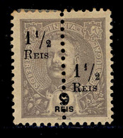 ! ! Portuguese India - 1911 D. Carlos (Perforated) - Af. 217c - NGAI - India Portoghese