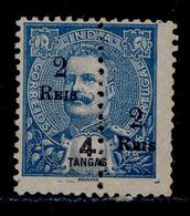 ! ! Portuguese India - 1911 D. Carlos (Perforated) - Af. 219 - NGAI - India Portoghese