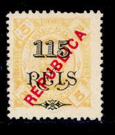 ! ! Zambezia - 1914 King Carlos Local Republica 115 R - Af. 70 - NGAI - Zambezia