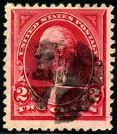 US #249 VF Used 2c Carmine Lake  Type I, Washington From 1894 - Used Stamps
