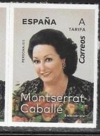 SPAIN, 2019, MNH, MUSIC, OPERA, MONTSERRAT CABALLÉ, 1v - Singers