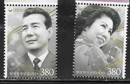 SOUTH KOREA, 2019, MNH,  SINGERS, 2v - Singers