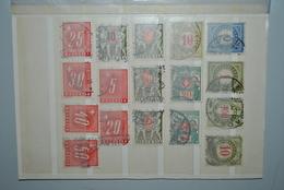 Suisse 1878/1938 Timbres-taxe Oblitérés - Strafportzegels
