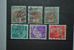 Suisse 1911/35 Timbres Franchise Oblitérés - Vrijstelling Van Portkosten