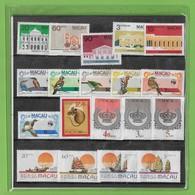Macau - Série 1984 - Selos Novos - Unused Stamps - Timbres - Macao - China - Portugal - Nuevos