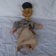 Ancien Gant De Marionnette Vintage Popeye - Marionnettes