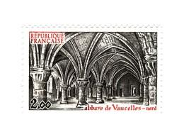 Abbaye De Vaucelles YT 2160 Avec GOMME MATE . Rare , Voir Le Scan . Cote Maury N° 2166a : 40 € . - Varieties: 1980-89 Mint/hinged