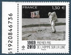 5340 Premier Pas De L'homme Sur La Lune BDF (2019) Neuf** - France