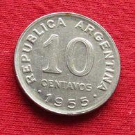 Argentina 10 Centavos 1955 KM# 51  Argentine - Argentine