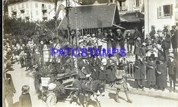 118637 FRANCE CHAMONIX AUVERNIA COSTUMES PEOPLE POSTAL POSTCARD - Francia
