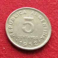 Argentina 5 Centavos 1952 KM# 46  Argentine - Argentine