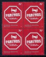 """Argentina - 2007 - Plan National De Sécurité Routière - """"Paremos"""" - Argentina"""
