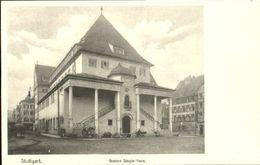 40454176 Stuttgart Stuttgart Gustav Siegle Haus Ungelaufen Ca. 1920 Stuttgart - Stuttgart