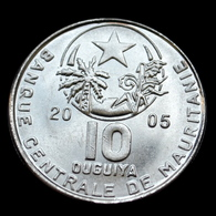 Mauritania 10 Ouguiya 2005. Km4a. Uncirculated Coin - Mauretanien