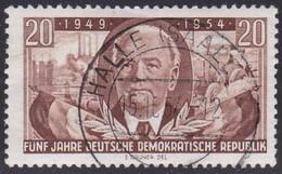 German Democratic Republic, Scott #224, Mint Hinged, Pieck, Issued 1954 - [6] Democratic Republic