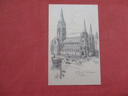 Australia > Victoria (VIC) > Melbourne  -- Signed Artist-- St Paul's Cathedral      Ref    3576 - Melbourne