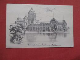 Australia > Victoria (VIC) > Melbourne  -- Signed Artist--  Building    Ref    3576 - Melbourne