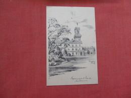 Australia > Victoria (VIC) > Melbourne  -- Signed Artist-- Government House   Ref    3576 - Melbourne