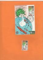 Météorologie Mondiale. Carte 1er Jour.et Timbre MNH 1962 Nouvelle-Calédonie. Météo. O.M.M Carte Pacifique Sud - Briefe U. Dokumente