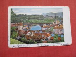 Gruss Aus Bern   Stamp & Cancel        Ref    3577 - BE Berne