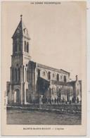 Cpa Corse Sainte Marie Sicché L'Eglise Collection Peretti Campo - France