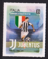 3.- ITALY 2018 FOOTBALL SOCCER JUVENTUS CHAMPION OF THE ITALIAN LEAGUE - Fútbol