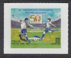 4.- ITALY 2018 FOOTBALL SOCCER 50 YEARS OF ITALIAN FOOTBALL ASSOCIATION - Fútbol