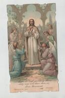 Anges Du Ciel Boumard Communion Collonges Salève 1906 Marthe Guy - Devotion Images