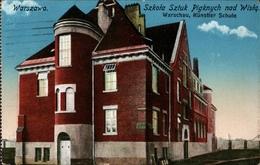 ! Alte Ansichtskarte Warschau, Warszawa, Polen, Poland, Pologne, 1916 - Polen