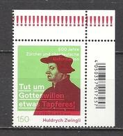 Deutschland / Germany / Allemagne 2019 3464 ** Huldrych Zwingli (02.05.19) - Ungebraucht