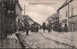 ! Alte Ansichtskarte Kowno, Litauen, Feldpoststempel Landsturm Inf. Posen V.7, Gel. N. Grabow - Lithuania