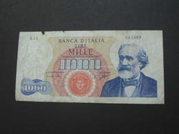 1000 LIRE -  - ITALIE  - Banca D'Italia 1962  **** EN ACHAT IMMEDIAT **** - 1000 Lire