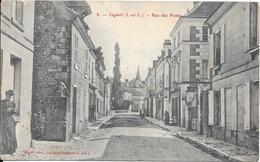 Ligueil - Rue Des Ponts - France