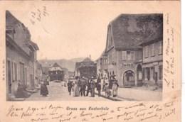 67 - Bas Rhin -  Gruss Aus KESTENHOLZ  ( CHATENOIS ) 1904 - Chatenois