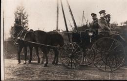 ! [55] Foto, Photo, Marville Bei Montmedy, Deutsche Soldaten, Kutsche, Pferde, 1. Weltkrieg, Guerre , 1917 - Francia