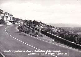 ACIREALE - CATANIA - STAZIONE DI CURA - PARTICOLARE DELLA VARIANTE PANORAMICA CON LO CHALET BELLAVISTA - 1961 - Acireale