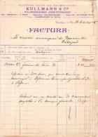 GRÜNBURG 1904 / Oberösterreich /KULLMANN / SAGEWERKE KISTEN UND HOLZMEHL FABRIK - Autriche