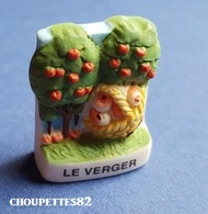 Fèves Fève La Campagne Le Verger Mat*225* - Sorpresine