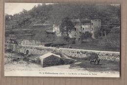 CPA 30 - L'ESTRECHURE - L'Estrechure - Le Moulin Et Domaine Du Passet - TB PLAN Château Avec Jolie ANIMATION - Autres Communes