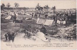 Guerre 1914-1916. Abris Et Cantonnement D'un Régiment De Marche De Zouaves. 750 - Guerre 1914-18
