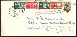 US Diplomatic Mail Sent From Yugoslavia 1952 (186) - 1945-1992 Socialist Federal Republic Of Yugoslavia