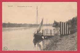 Genval-les-Eaux - Embarcadère Sue Le Lac ... Petit Bateau à Voile  ( Voir Verso ) - Rixensart