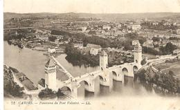 46 Lot Cahors Panorama Du Pont Valentre - Cahors