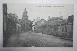 29 : Lesneven - Rue De La Fontaine - Lesneven
