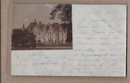 CPA PHOTO 24 - MUSSIDAN - TB PLAN En CP Photographique D'un Château - CP Voyagée 1904 - Mussidan