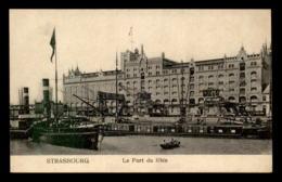 67 - STRASBOURG - LE PORT DU RHIN - PENICHES - Strasbourg
