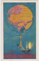 Pubblicitaria,  V° Prestito Nazionale, Periodo I° Guerra Mondiale , Illustrata  Da A. Petroni - F.p. -  Anni '1910 - Pubblicitari